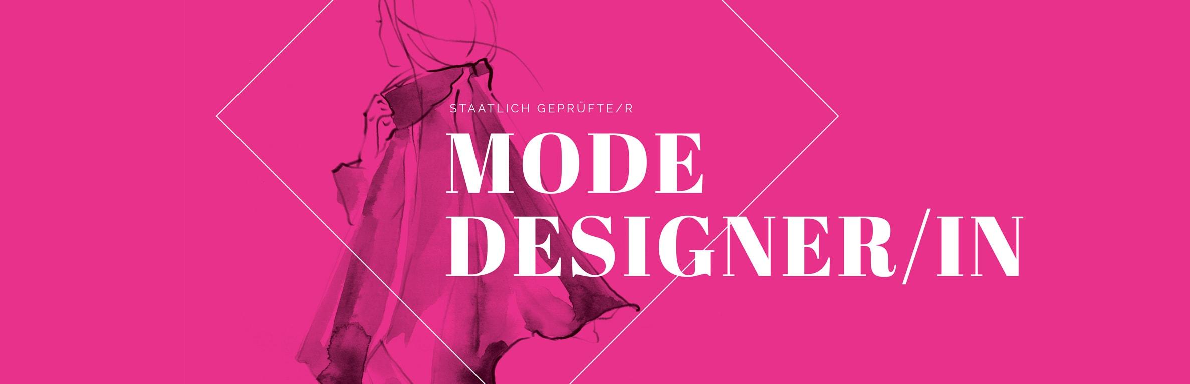 Design staatlich gepr fte r modedesignerin for Mobeldesigner ausbildung